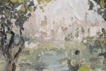 Pintura del siglo XX. RUPEREZ GÓMEZ, Pilar. Óleo sobre lienzo.
