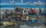 Pintura del siglo XX. SEGRELLES DEL PILAR, Eustaquio (Albaida, 1936). Óleo sobre lienzo. 2003.