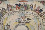 Obra Gráfica. PAREJA DE LITOGRAFÍAS A COLOR, SS XIX-XX.