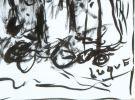 Dibujo. FERNÁNDEZ LUQUE, Manuel (Écija, 1919-Valencia, 2005)