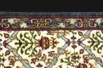 Alfombras y Tapices. Alfombra española con diseño tipo Cuenca, S. XX.