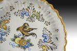 Cerámica. Plato de cerámica, Talavera, pps. XX.