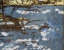 Pintura del siglo XX. Bernard DUFOUR (Paris 1922 - Foissac 2016).