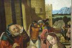 Pintura del siglo XIX. Siguiendo modelos de Hans Memling (Alemania, 1433 - Brujas, 1494)