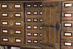 Muebles. Bargueño italiano, S. XIX.