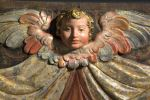 Esculturas. Fragmento de retablo, S. XVII.