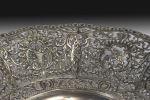 Silver. Eighteenth-century silver center, second half of the s. XX.