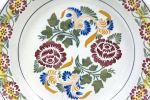 Ceramic. Ceramic plate.